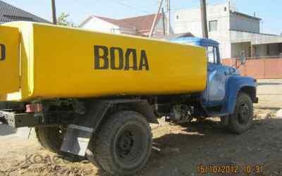 Привезем воду водовозом - Ростов-на-Дону, цены, предложения специалистов