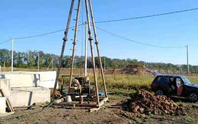 Бурим скважины на воду канатно-ударным способом - Таганрог, цены, предложения специалистов