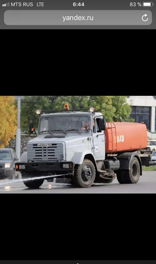 Аренда поливомоечной машины и водовозки - Батайск